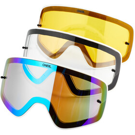 O'Neal B-50 Goggles Pro Pack force-black/white-silver mirror